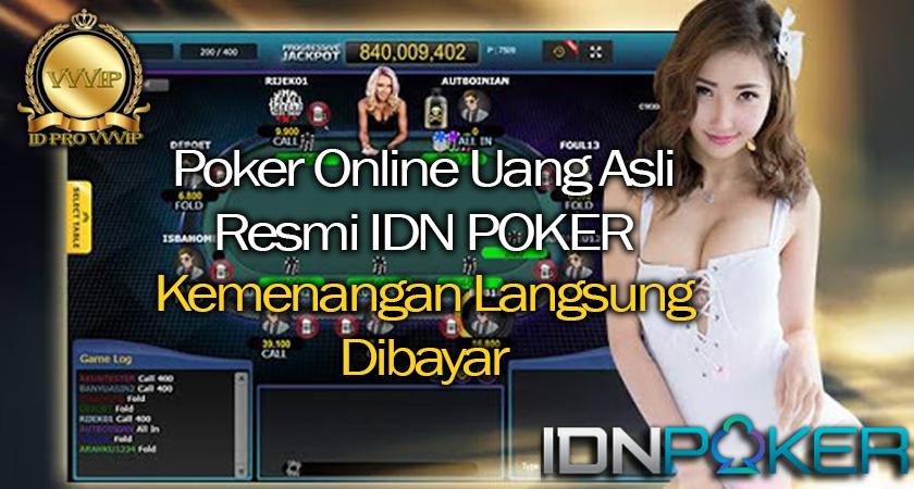 Situs Judi Poker Online Pasti Bayar