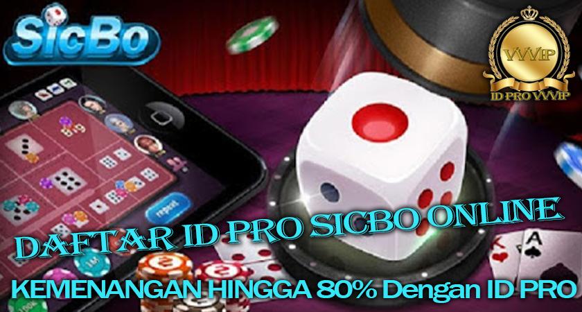 Daftar ID PRO Sicbo